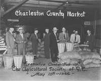 Executive Committee of the Agricultural Society of South Carolina at the Charleston County Market, 1946