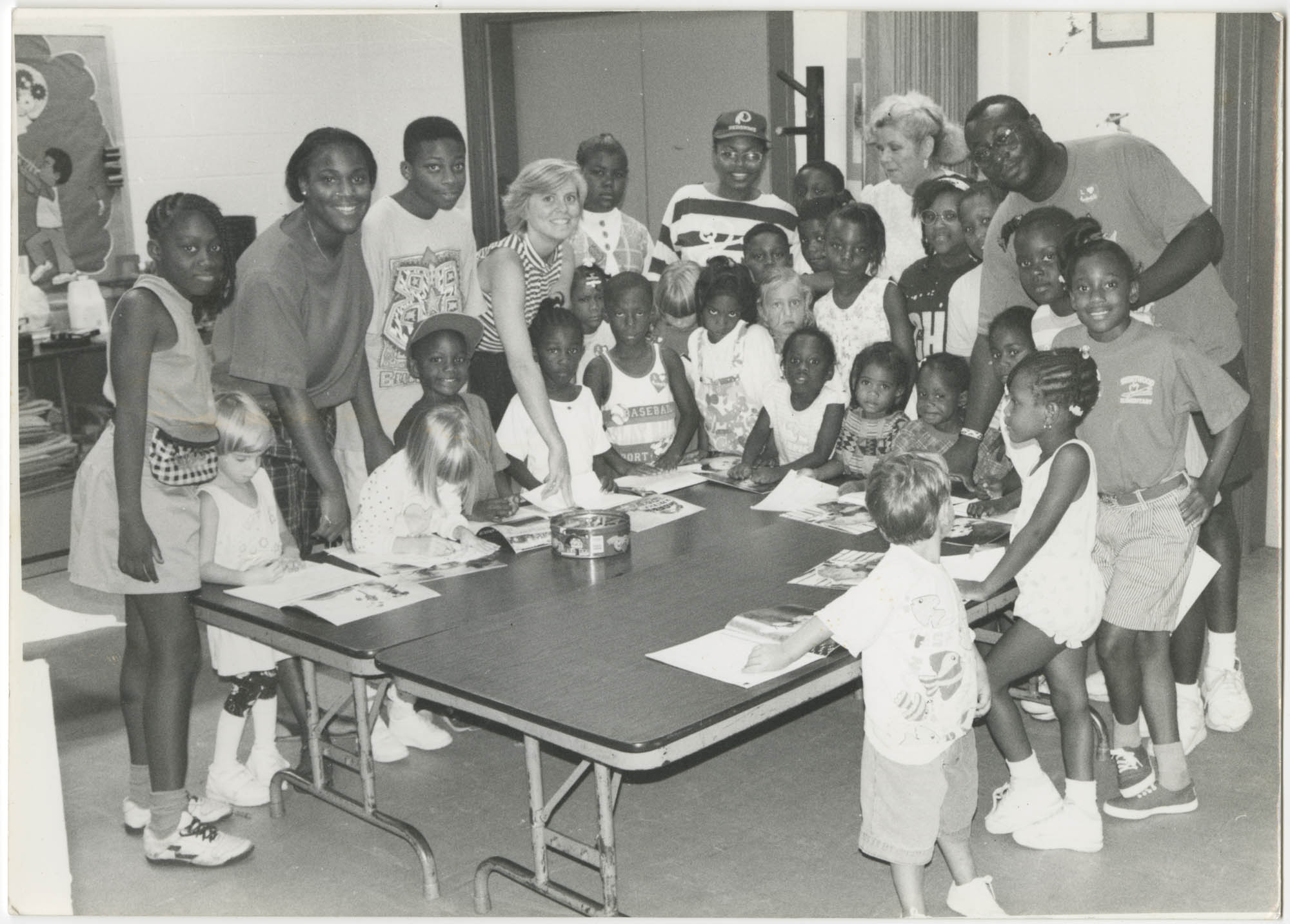 Photograph of Y.W.C.A. of Greater Charleston Children and Staff