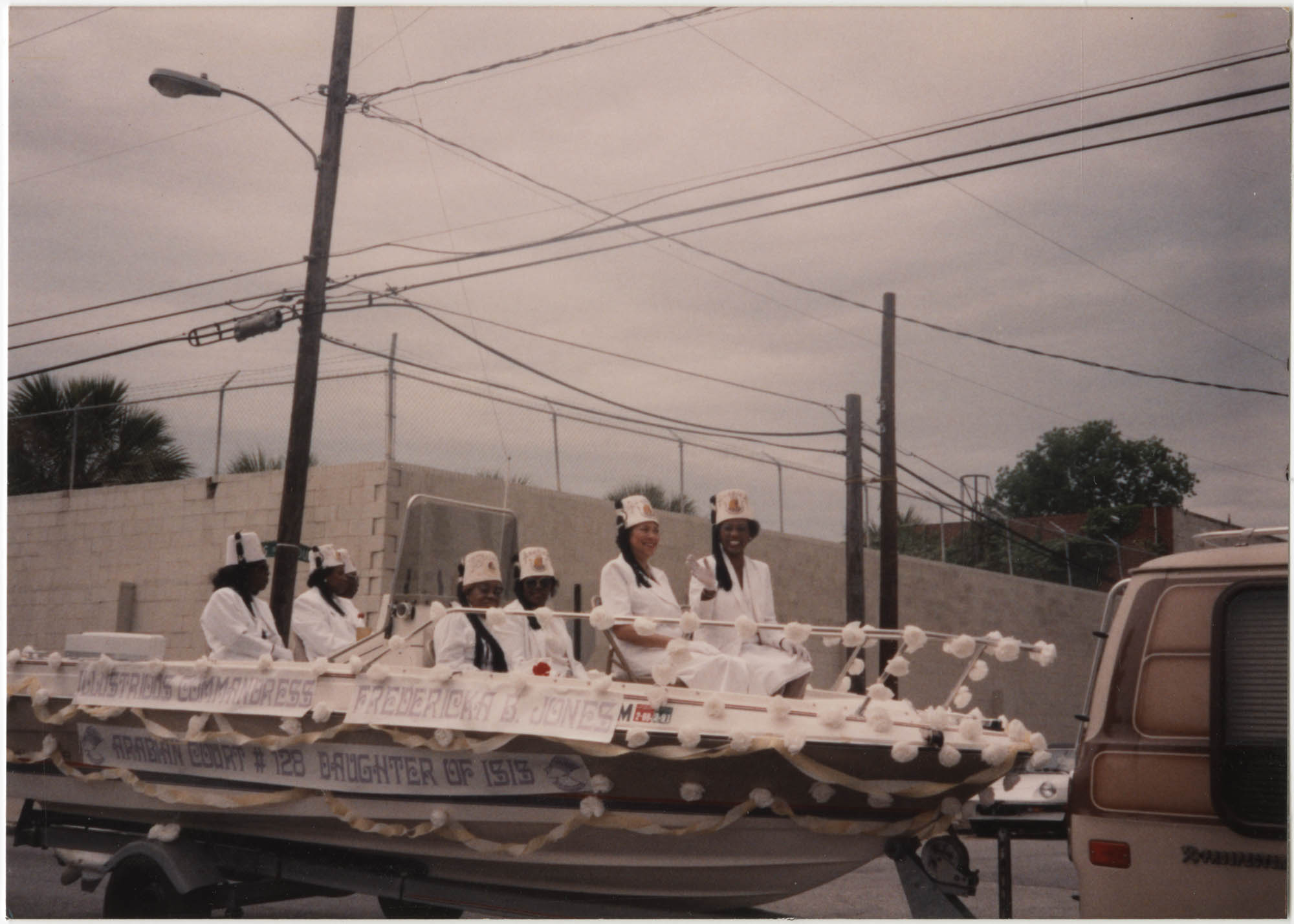 Photograph of a Parade Float