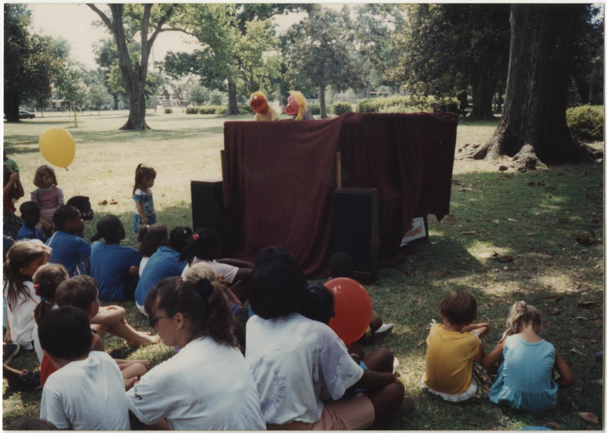 Photograph of a Puppet Show