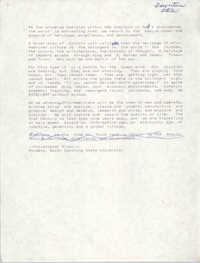 Draft, Speech, Christopher Brown