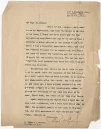Letter to Edward Mickey, April 9, 1919