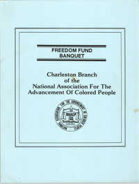 Planning Notes, Freedom Fund Banquet, Charleston Branch of the NAACP, 1989 Freedom Fund Banquet