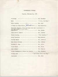Bicentennial Program, Y.W.C.A. of Greater Charleston