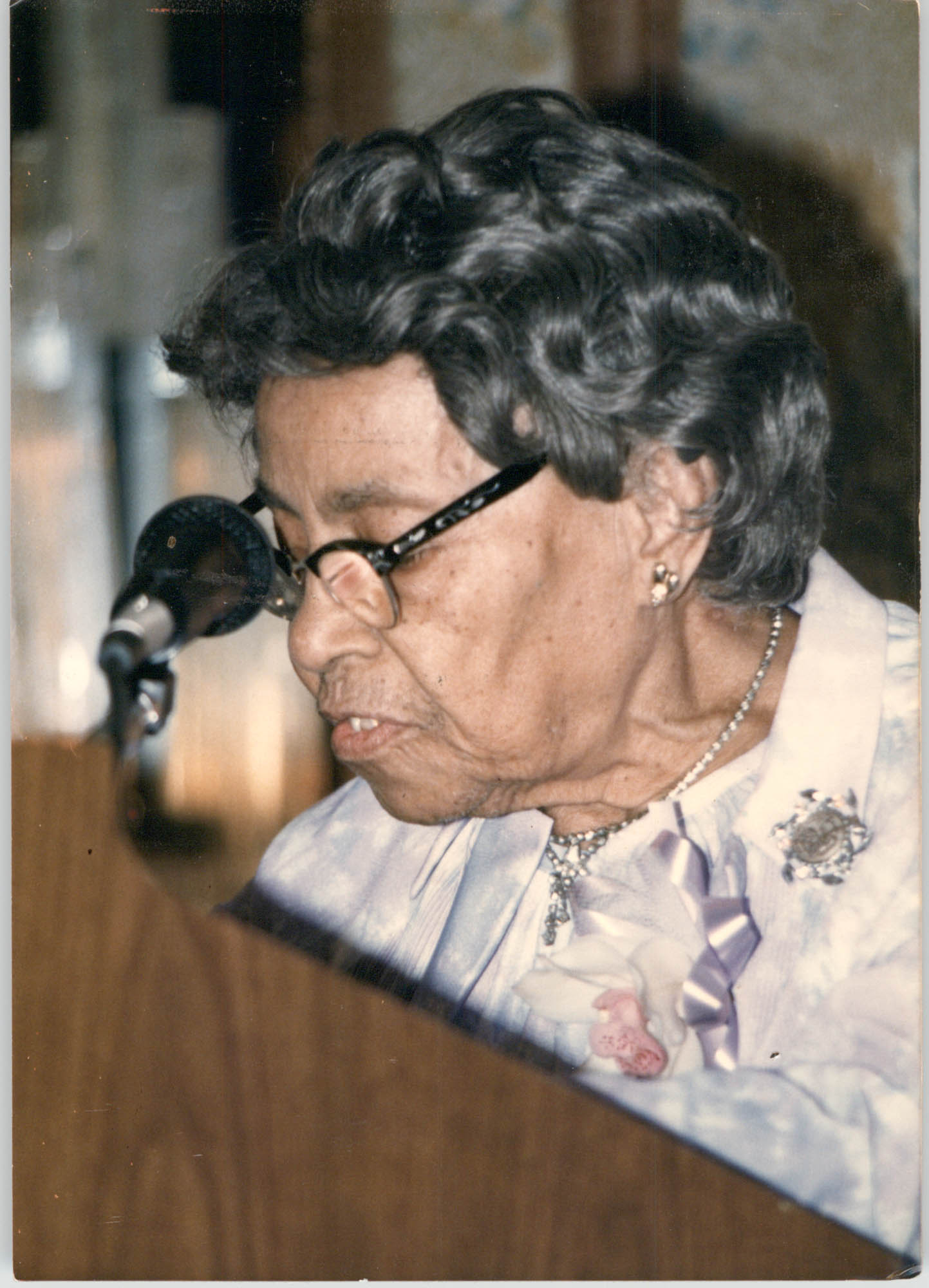 Photograph of Septima P. Clark