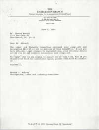 Letter from Brenda C. Murphy to Thomas Manuel, June 4, 1993