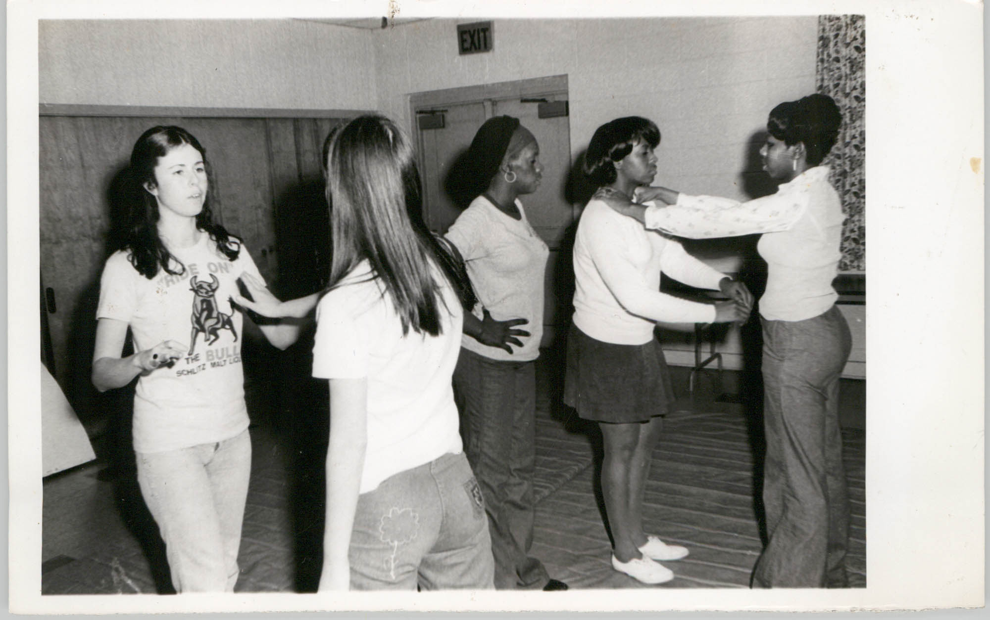 Photograph of a Group of Dancers