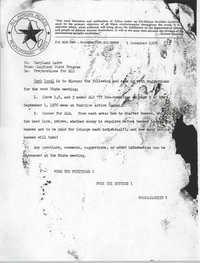 All African People's Revolutionary Party Memorandum, November 1, 1976