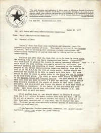 All African People's Revolutionary Party Memorandum, March 30, 1977