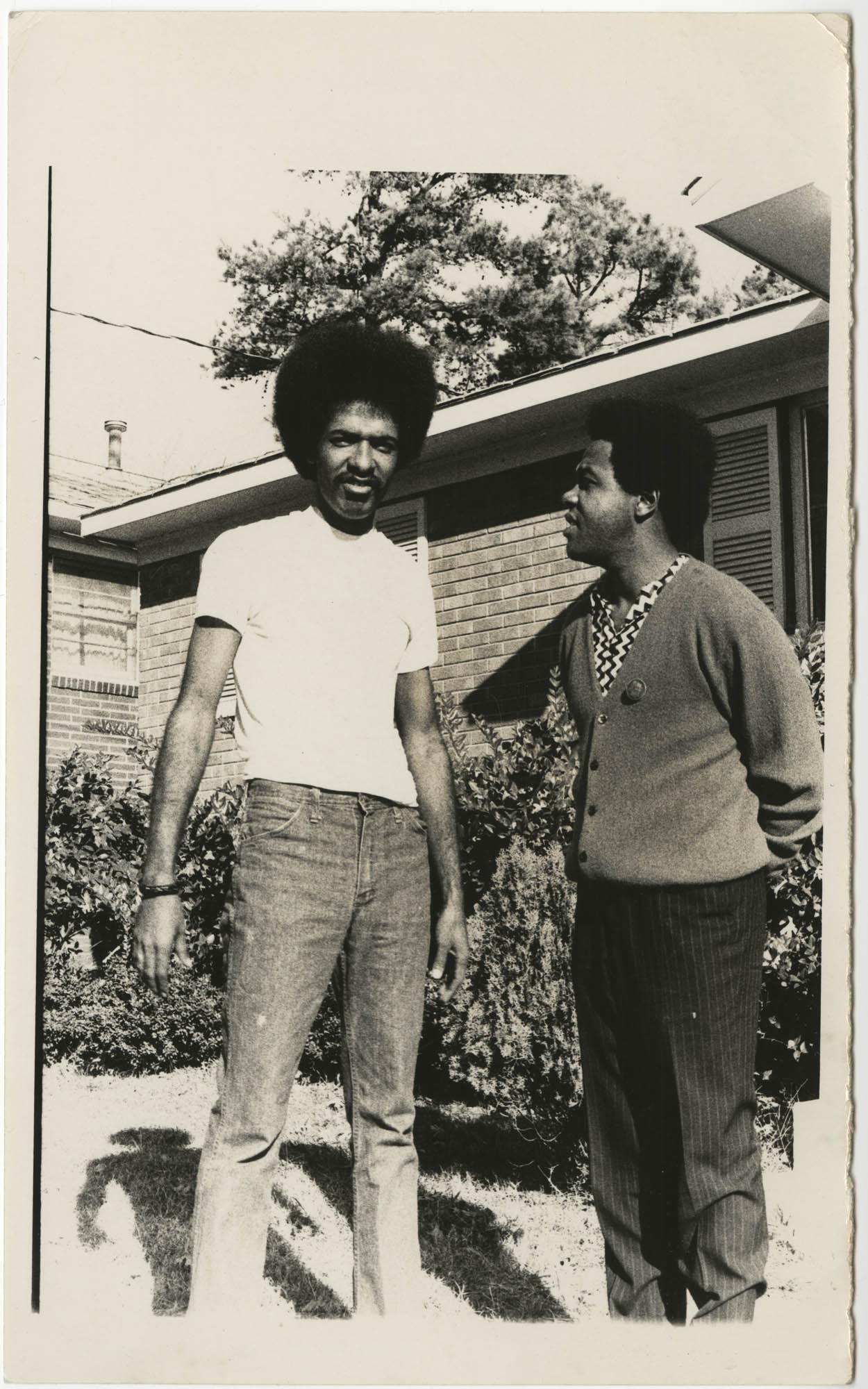 Photograph of Cleveland Sellers and Friend