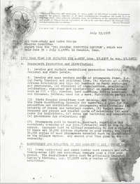 All African People's Revolutionary Party Memorandum, July 23, 1978