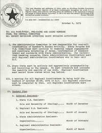 All African People's Revolutionary Party Memorandum, October 4, 1979