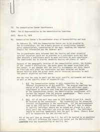 All African People's Revolutionary Party Memorandum, March 15, 1979