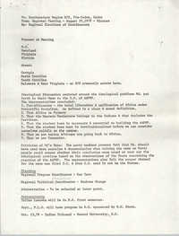 All African People's Revolutionary Party Memorandum, August 25, 1979