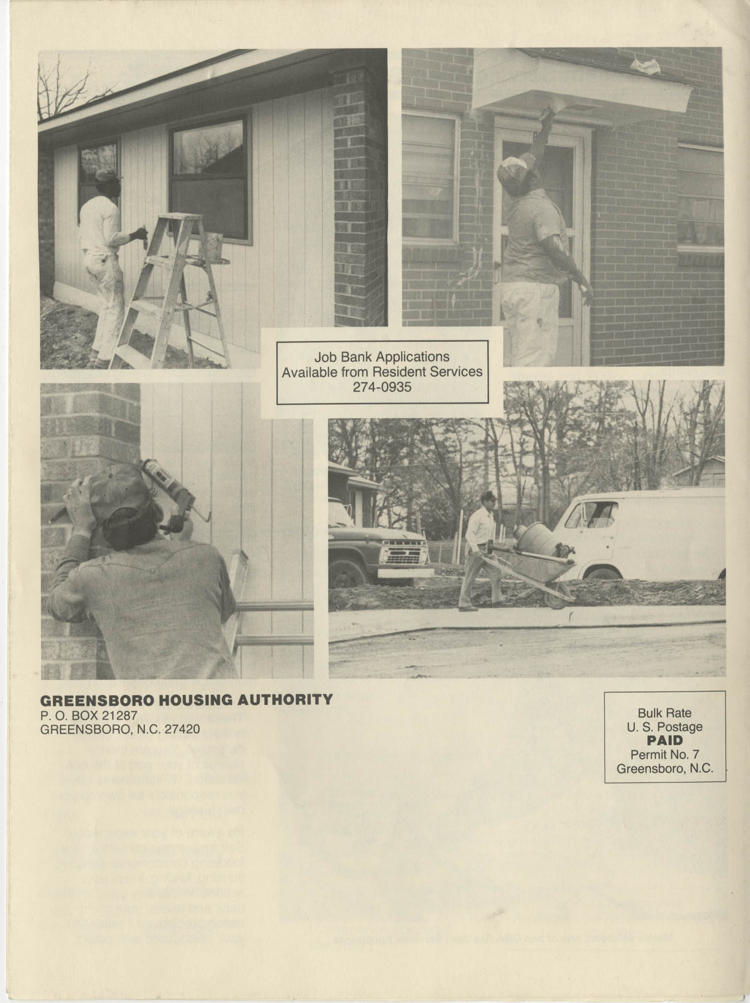 Greensboro Housing Authority Community News, Volume 8, Issue 2, Summer 1988