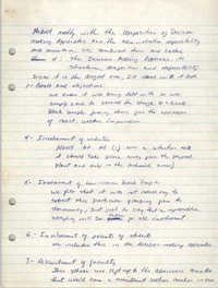 Malcolm X Liberation University Handwritten Notes