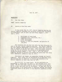 All African People's Revolutionary Party Memorandum, June 20, 1977