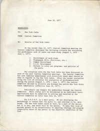 All African People's Revolutionary Party Memorandum, June 20, 1977