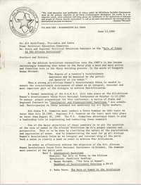 All African People's Revolutionary Party Memorandum, June 13, 1980