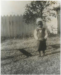 Photograph of Cleveland Sellers as a Boy