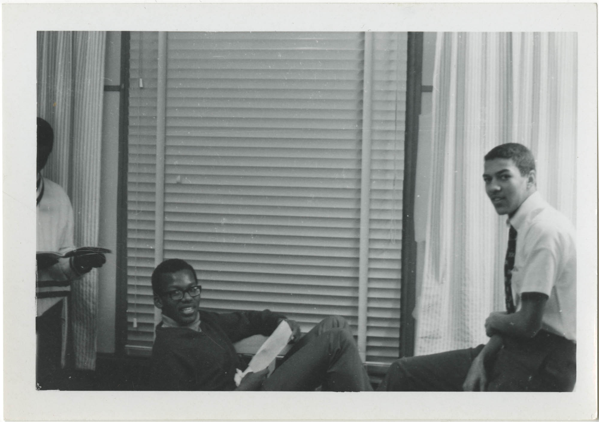 Photograph of Three Young Men