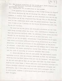 All African People's Revolutionary Party Memorandum from Rafiki Bayette, July 21, 1980