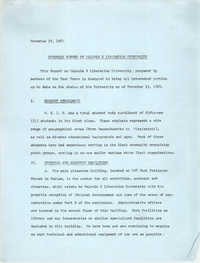 Progress Report on Malcolm X Liberation University, November 15, 1969