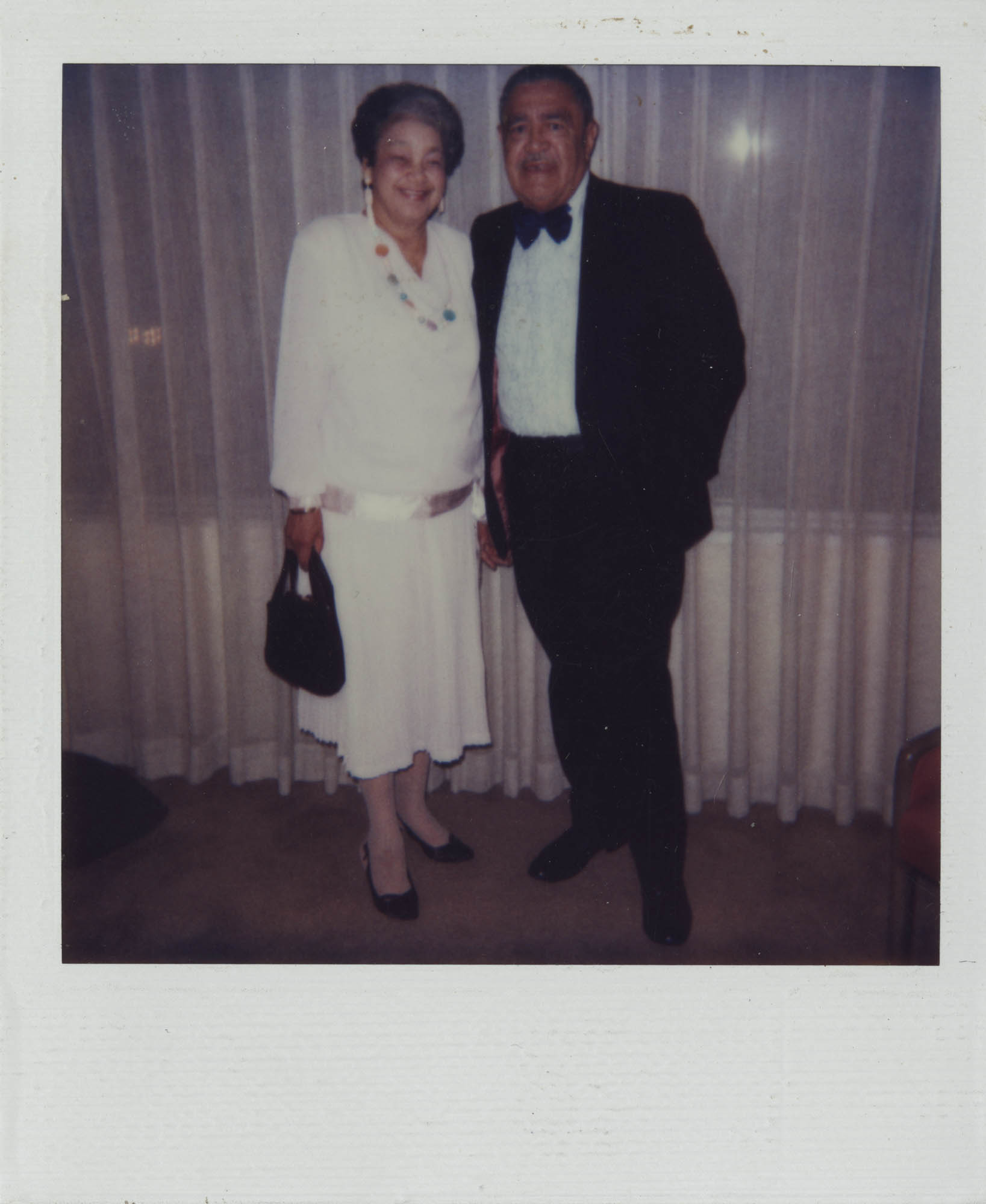 Photograph of J. Arthur Brown and MaeDe Brown in Formal Attire