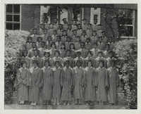Photograph of J. Arthur Brown's Graduating Class