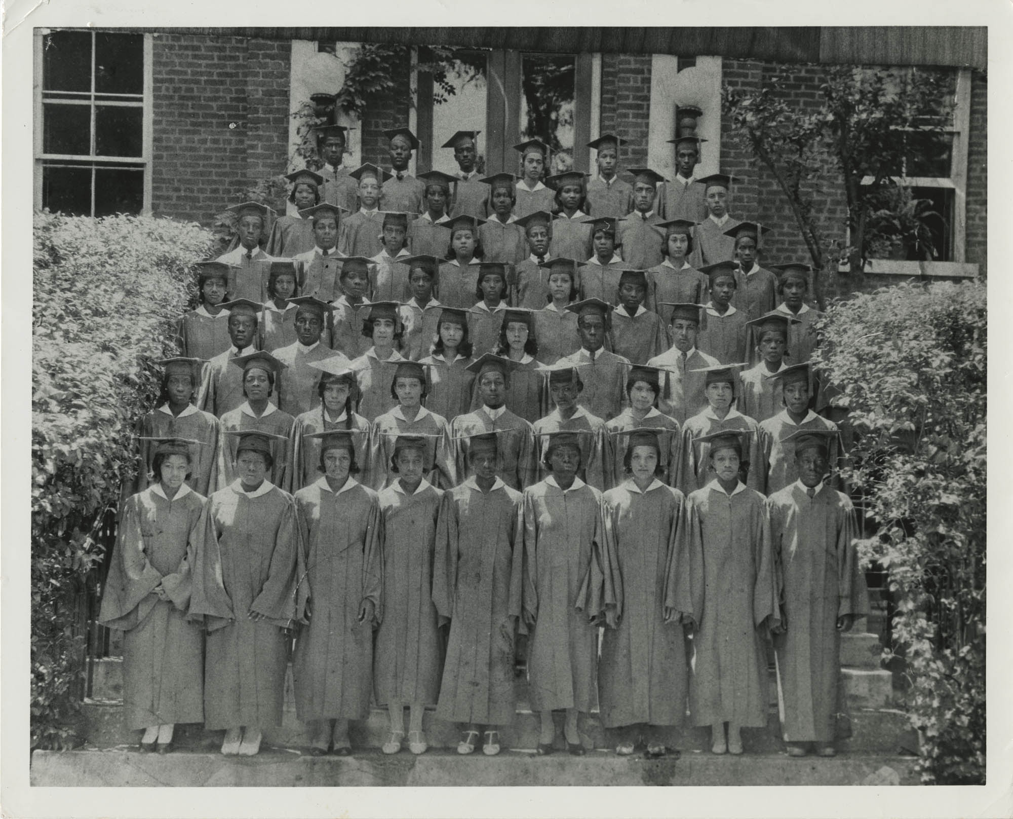Photograph of J. Arthur Brown's Graduating Class