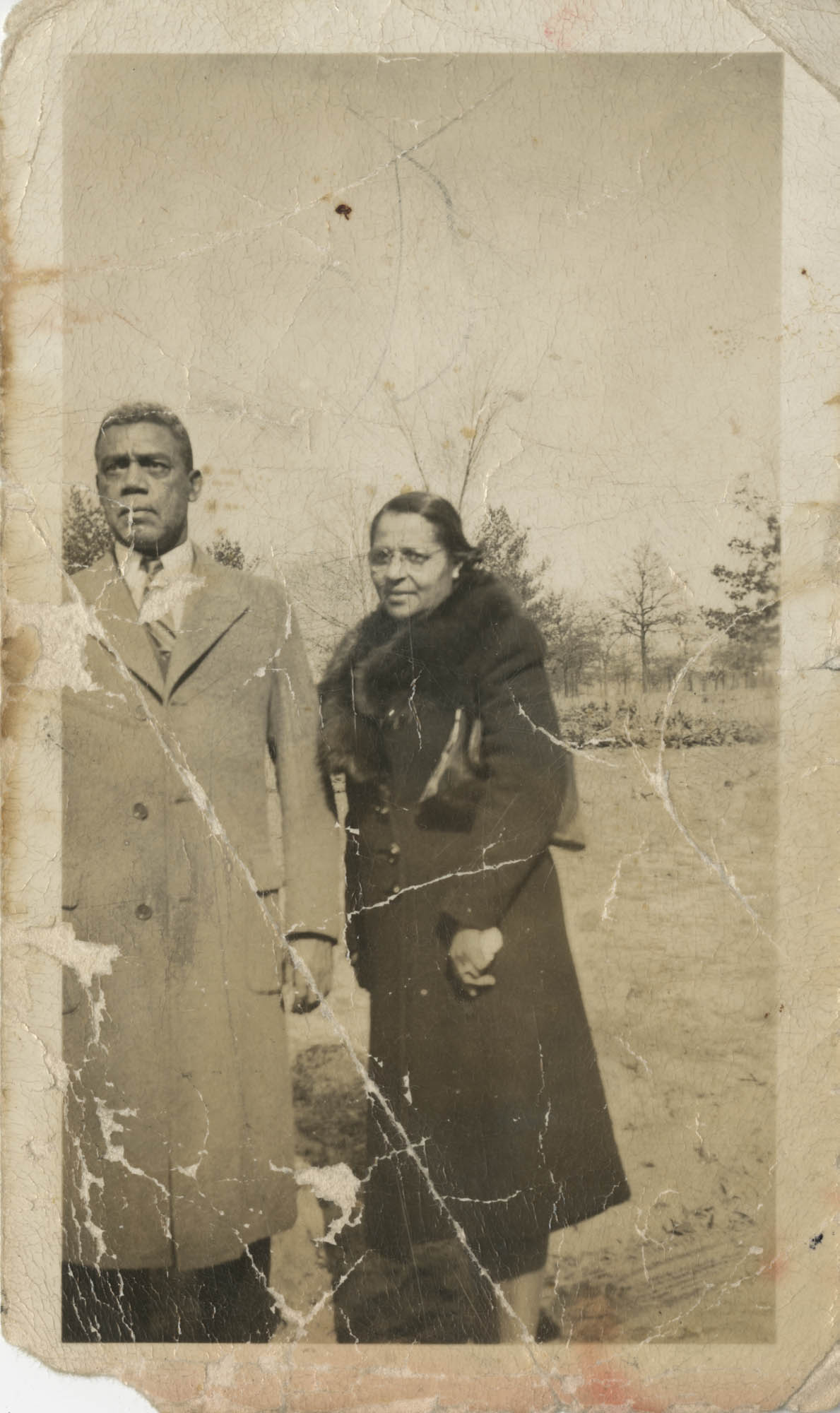 Photograph of J. Arthur Brown's Parents