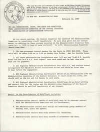All African People's Revolutionary Party Memorandum, February 11, 1980