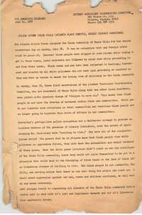 Student Nonviolent Coordinating Committee Press Release, June 19, 1967