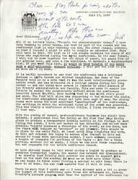 Letter from Jack Chatfield, July 10, 1988
