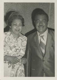 Photograph of J. Arthur Brown and MaeDe Brown