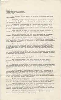 Speech of Congressman August E. Johansen in the House of Representatives, June 10, 1957