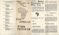 Pan African Work Program Pamphlet