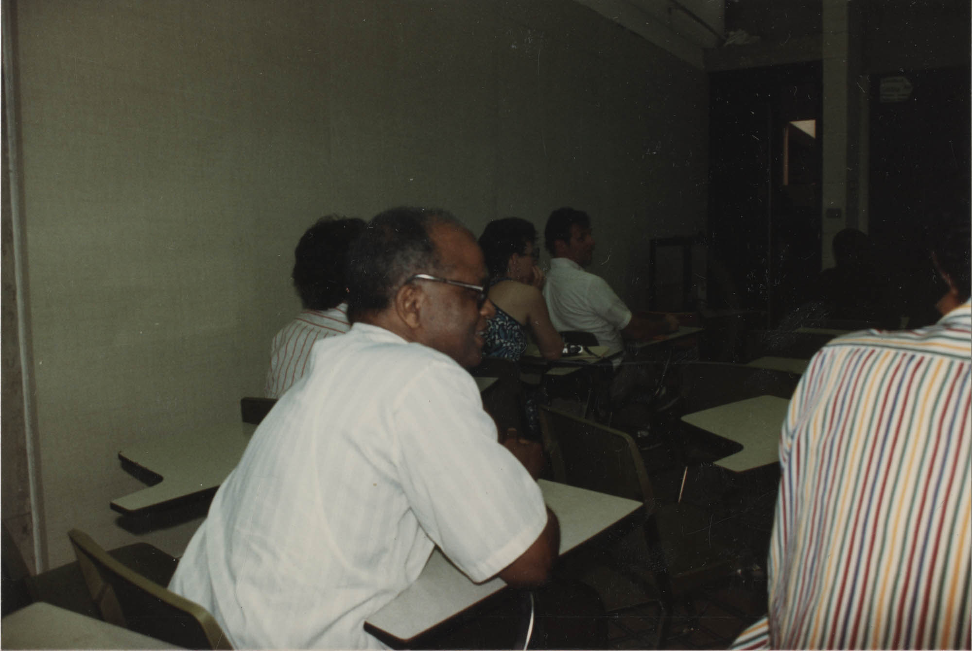 Photograph of Adults Seated in a Classroom