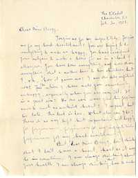Letter from C.C. Tseng to Laura M. Bragg, February 20, 1928