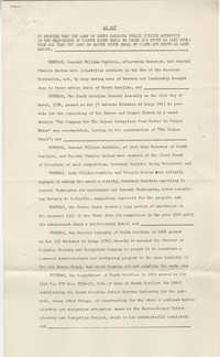 Santee-Cooper: An Act granting the names of the lakes on Cooper River and Santee River, February 23, 1944