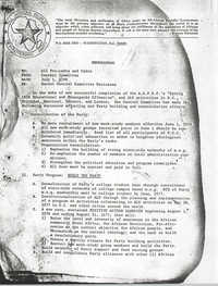 All African People's Revolutionary Party Memorandum, July 1, 1976