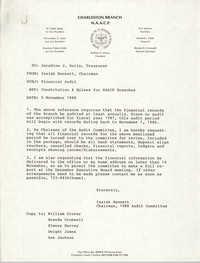 Charleston Branch of the NAACP, November 5, 1988