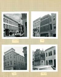 King Street Survey Photo Album, Page 4 (back): 184-200 King Street