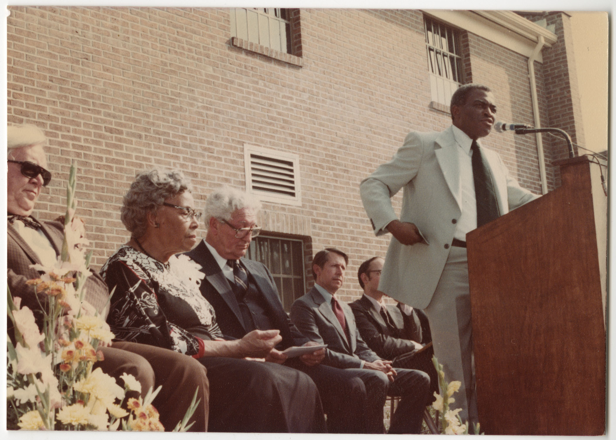 Lonnie Hamilton III, Septima P. Clark Day Care Center Ceremony, May 19, 1978