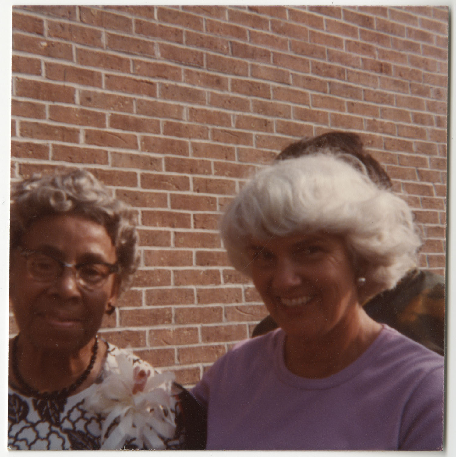 Septima P. Clark and Woman, Septima P. Clark Day Care Center Ceremony, May 19, 1978
