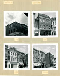 King Street Survey Photo Album, Page 5 (back): 208-220 King Street