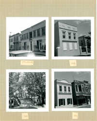 King Street Survey Photo Album, Page 4 (front): 160-184 King Street