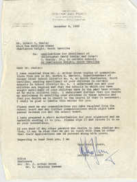 Letter from Matthew J. Perry to Robert C. Neeley, December 6, 1963