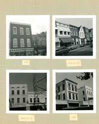 King Street Survey Photo Album, Page 2 (front): 165-183 King Street