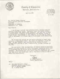 Letter from N. Steven Steinert to Francis Phipps, April 11, 1980